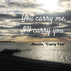 you carry me, i'll carry you (1)