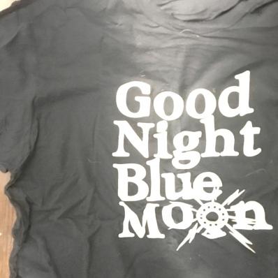 Good Night Blue Moon tee