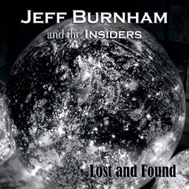 Cover of Lost and Found EP -- black and white planet in space